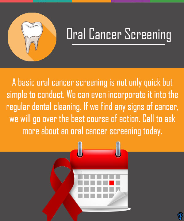 Easy, Painless And Important: Oral Cancer Screenings